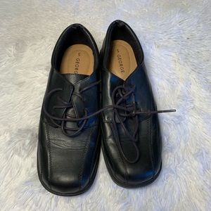 George Black Dress Shoes Boys Size 5